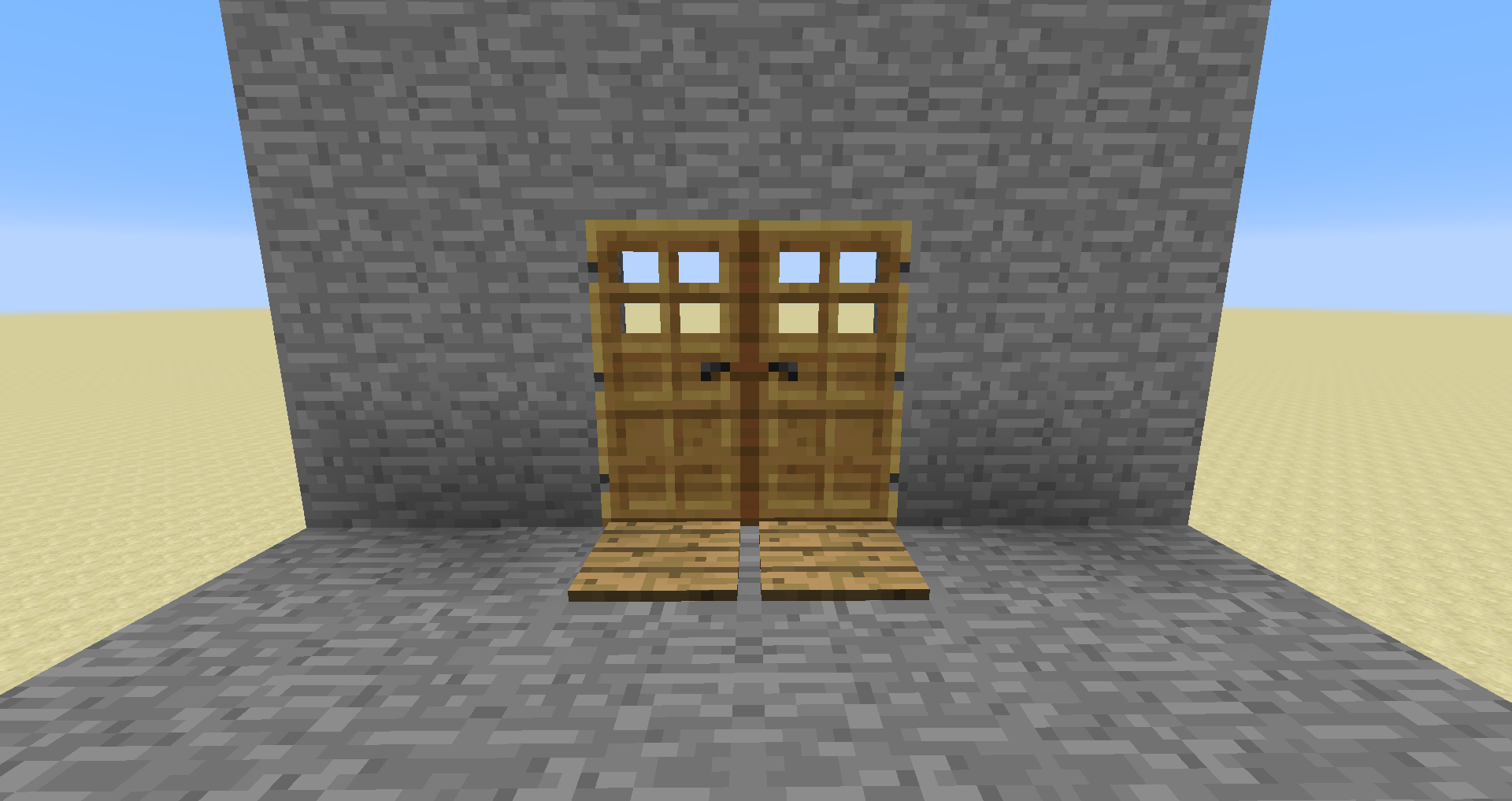 ピストン 3 マイクラ ドア 3